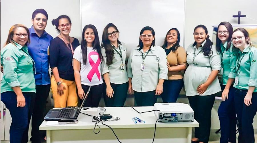 Braslimp promove ação para Outubro Rosa